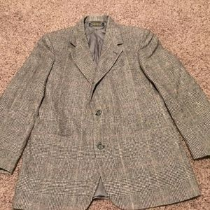 Brooks Brothers Glen Plaid Camelhair Sportcoat.